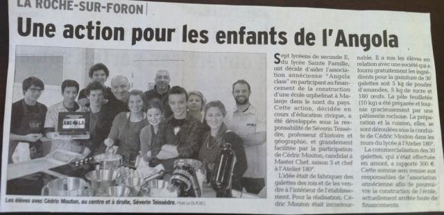 Article presse Dauphiné